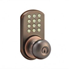 Bronze Touch Pad Electronic Entry Knob