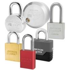 Solid steel padlocks